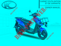 MANUAL para Kymco AGILITY 50 CARRY 4T EURO II